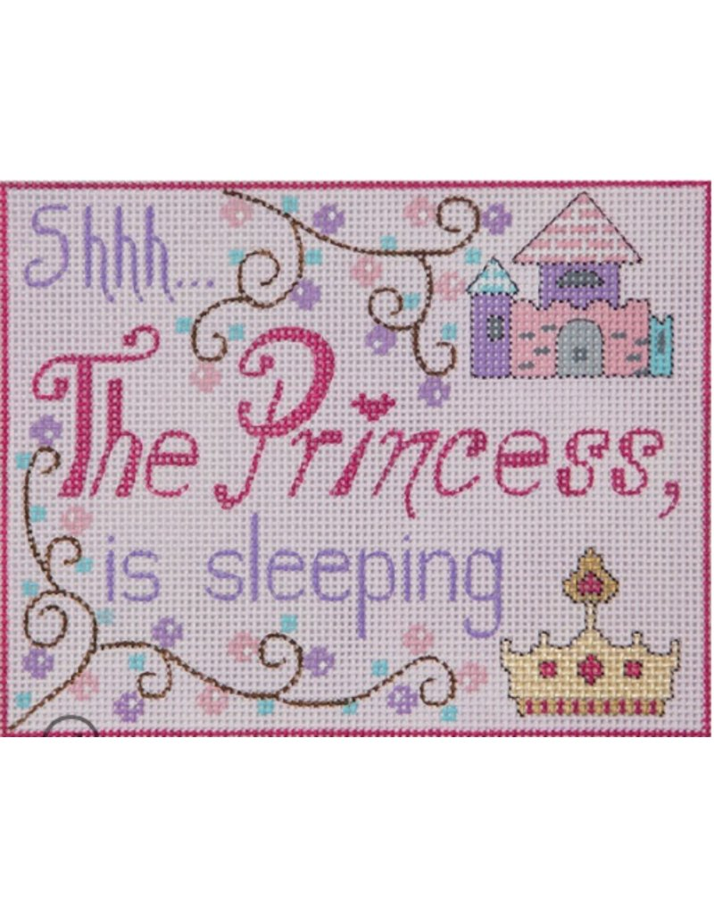 "Alice Peterson Princess Sleeping<br /> 7"" x 5.5"""