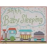 "Alice Peterson SHHH Baby Sleeping<br /> 7"" x 5.5"""