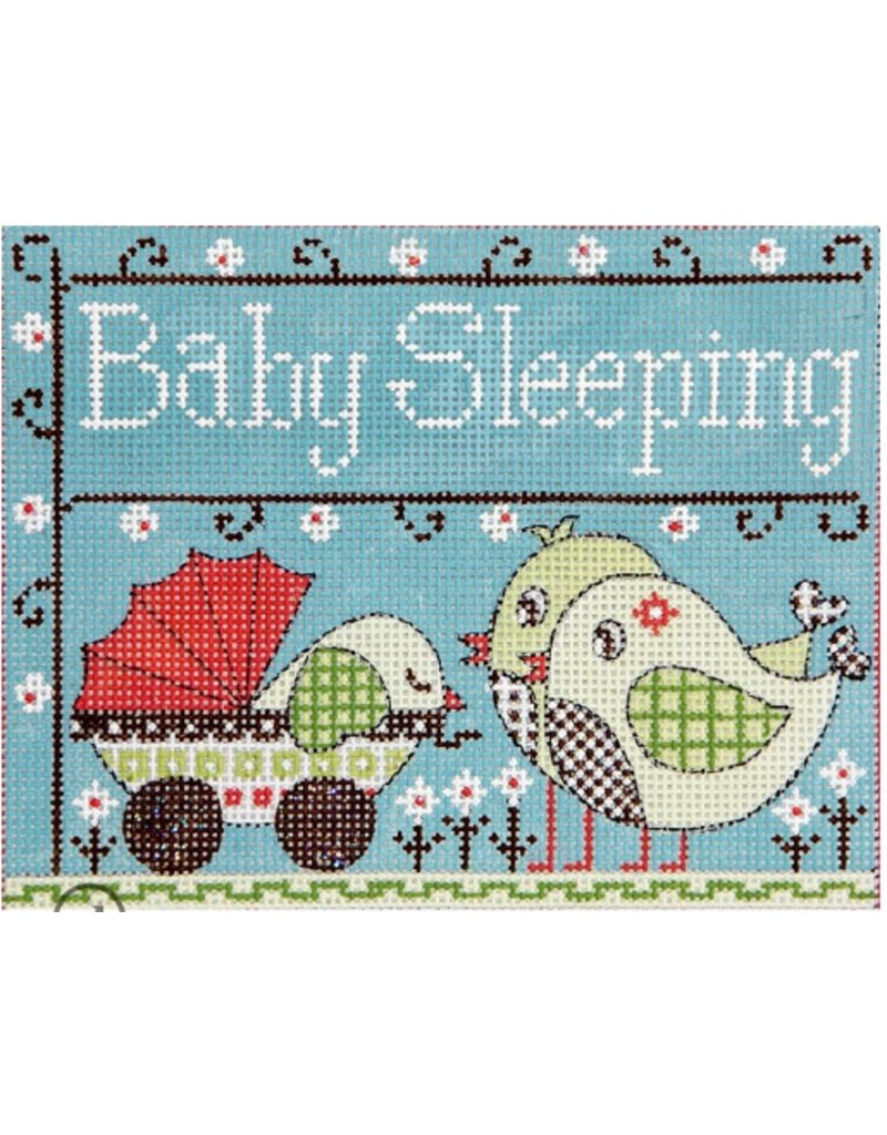 "Alice Peterson Baby Birds - Baby Sleeping<br /> 7"" x 5.5"""