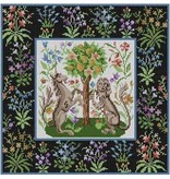 """Meredith Cluny Tapestry<br /> 14"""" x 14"""""""