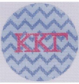 "Kate Dickerson Mini Round - Kappa Kappa Gamma<br /> 3"" Round"