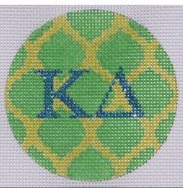 """Kate Dickerson Mini Round - Kappa Delta<br /> 3"""" Round"""