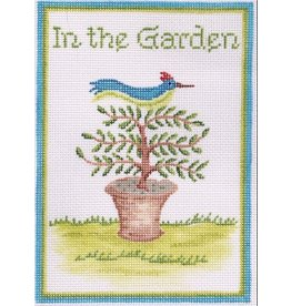 "Kate Dickerson ""In The Garden"" Door Hanger<br /> 6.5"" x 4.75"""