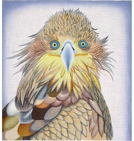 "Zecca Hawk (w/glass eyes)<br /> 10.25"" x 11"""