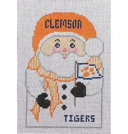Canvas Connection Clemson ornament