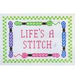 "J Malahy ""Life's A Stitch""<br /> 5.5"" x 8.5"""