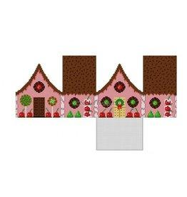 Susan Roberts Chocolate Sprinkles & Cherries Gingerbread House