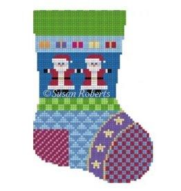 Susan Roberts Patchwork Mini Sock
