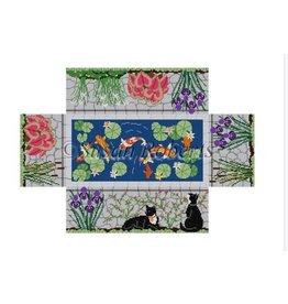 Susan Roberts Koi pond brick cover