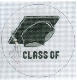 "Meredith Class of -   Graduation ornament <br /> 5"" Round"