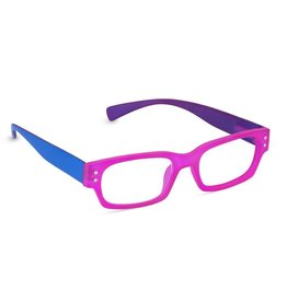 Peepers Prepster - Pink/Blue/Purple +2.50 glasses