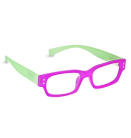 Peepers Prepster - Pin/Lime +1.75 Glasses