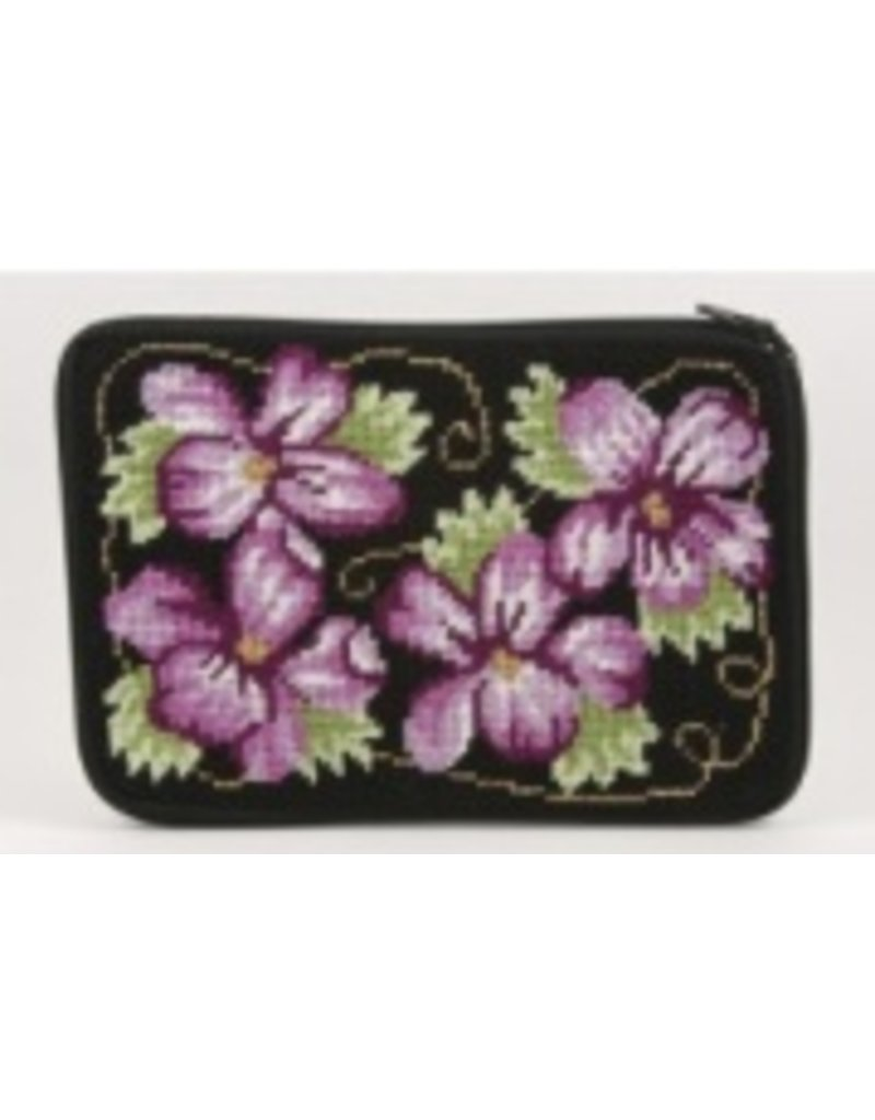 Alice Peterson Climbing Rose Cosmetic Case