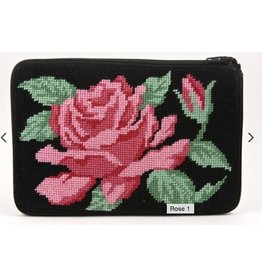 Alice Peterson Rose Cosmetic Case