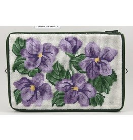 Alice Peterson Sweet Violets Cosmetic Case