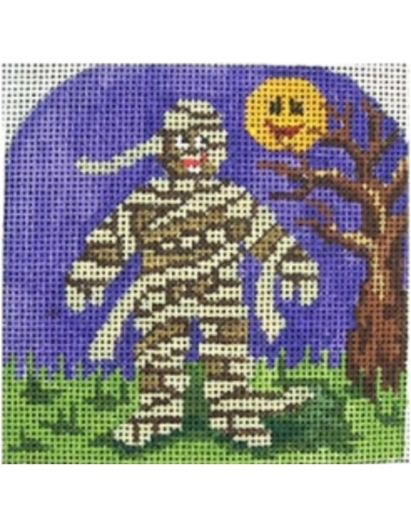 "All About Stitching Halloween Mummy<br /> 3.5"" x 3.5"""