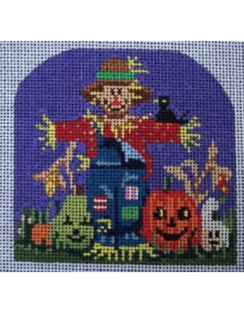 """All About Stitching Scarecrow<br /> 3.5"""" x 3.5"""""""