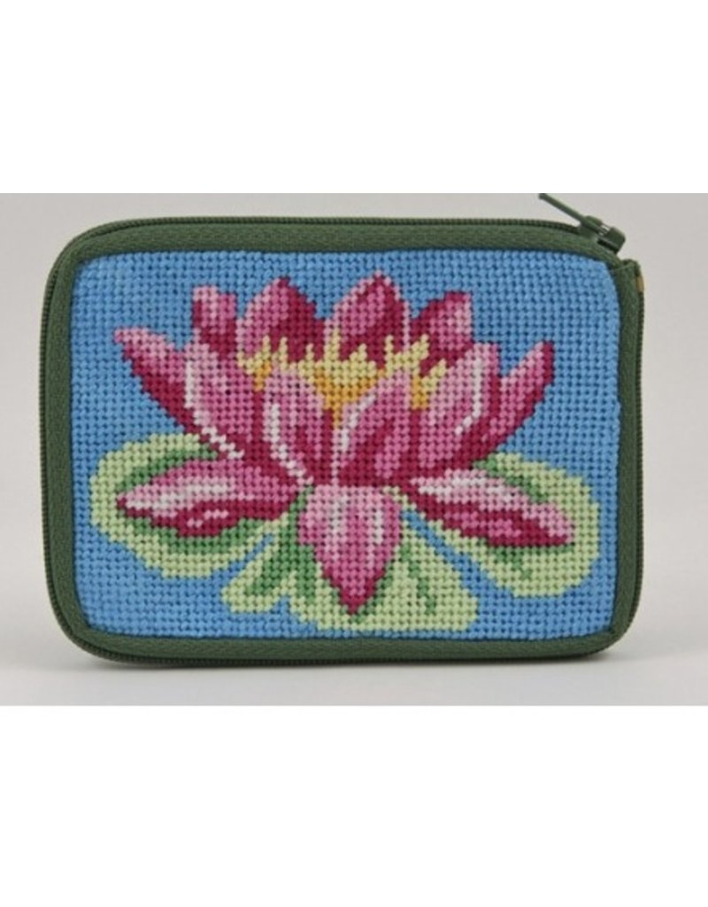 Alice Peterson Waterlily Coin/Credit Card Case