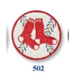 CBK Needlepoint Red Sox Ornament