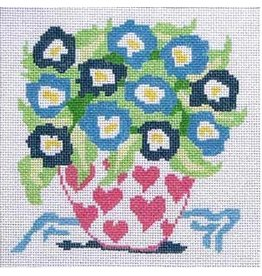 "Jean Smith Designs Small Bouquet #2<br /> 8"" x 8"""