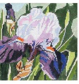 """Jean Smith Designs Summer Pallette Iris #1<br /> 8"""" x 8"""""""