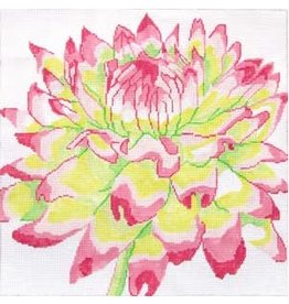 "Jean Smith Designs Pink/Green Mum<br /> 8"" x 8"""
