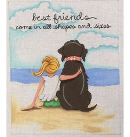 """Patti Mann Best Friends<br /> 12"""" x 10"""""""