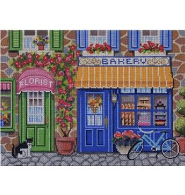 "Alice Peterson Store Front Bakery<br /> 12"" x 9"""