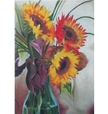 """Sundance Sunflower Vase14.5"""" x 10"""""""