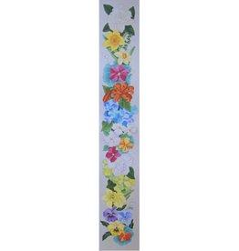 """Fleur de Paris Floral Bell Pull<br /> 6"""" x 40"""""""