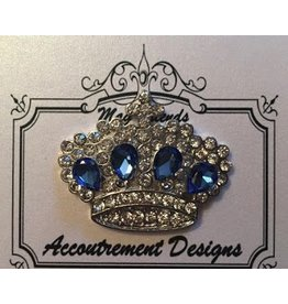 Accoutrement Designs Crown w/ Sapphire Stones Magnet