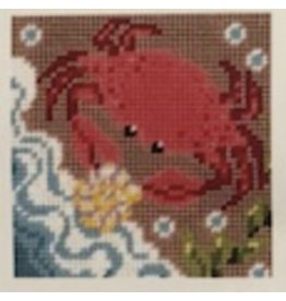 "Fleur de Paris Crab (kid's kit)<br /> 9"" x 9"""