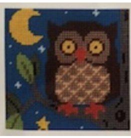 """Fleur de Paris Owl (kid's kit)<br /> 9"""" x 9"""""""