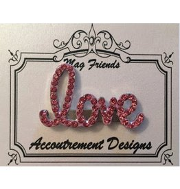 "Accoutrement Designs ""love"" magnet"
