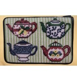 Alice Peterson Teapots Cosmetic Purse