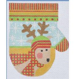 Danji Reindeer Mitten - ornament