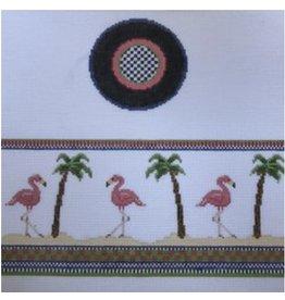 Funda Scully Flamingo Hinged Box