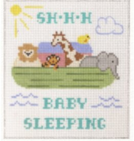 "Canvas Connection Noah's Arc - Baby  Sleeping<br /> 6"" x 6.75"""