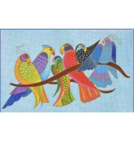 "Danji Songbirds<br /> 16"" x 10"""