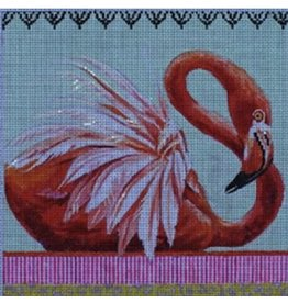 "Colors of Praise Flamingo<br /> 8"" x 7.5"""