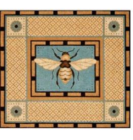 "JP Needlepoint Bumble Bee<br /> 16"" x 14"""