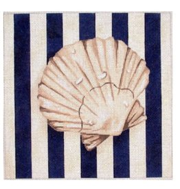 Associated Talent Scallop Shell Square/Stripes