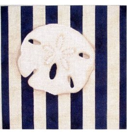 "Associated Talent Sand Dollar Square/Stries<br /> 10"" x 10"""