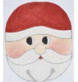 "Danji Jingle Bell Santa - ornament<br /> 4.5"" x 5.5"""