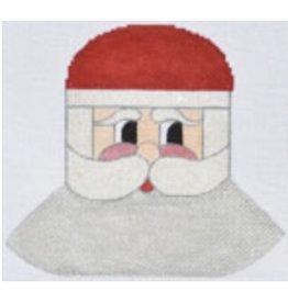 "Danji Silver Bells Santa Ornament<br /> 5.5"" x 5.5"