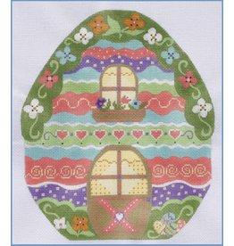 """Danji Spring Egg House<br /> 7.25"""" x 9.25"""""""