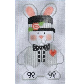 "Danji Boy Bunny #1 - ornament<br /> 2.5"" x 4"""