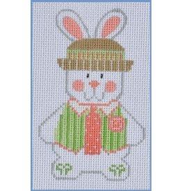 "Danji Boy Bunny #2 - ornament<br /> 2.5"" x 4"""