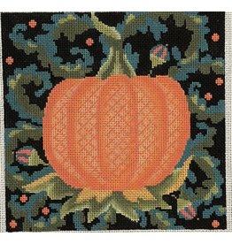 """Fleur de Paris Jacobean Pumpkin<br /> 8"""" x 8"""""""