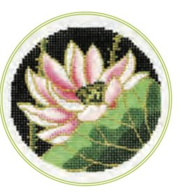 "Colonial Needle Lotus<br /> 3"" Round"